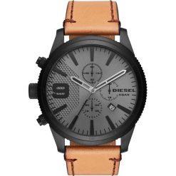 Zegarek DIESEL - Rasp Chrono 50Mm DZ4468 Brown/Black. Brązowe zegarki męskie Diesel. Za 929,00 zł.