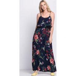 Sukienki: Granatowa Sukienka Jungle Green