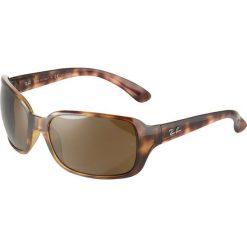RayBan Okulary przeciwsłoneczne brown. Brązowe okulary przeciwsłoneczne damskie aviatory Ray-Ban. Za 719,00 zł.