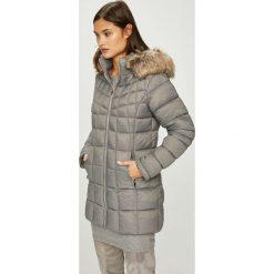 Answear - Kurtka/płaszcz 40JKT14362F. Szare kurtki damskie pikowane marki ANSWEAR, l, z materiału. W wyprzedaży za 199,90 zł.