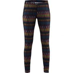 Damskie sportowe legginsy funkcyjne CRAFT Mix and Match 1117. Czerwone legginsy skórzane marki Astratex, w koronkowe wzory. Za 82,00 zł.