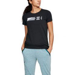Under Armour Koszulka damska Sportstyle Branded Graphic czarna r. L (1305578-001). Szare bluzki damskie marki Under Armour, l, z elastanu. Za 69,71 zł.
