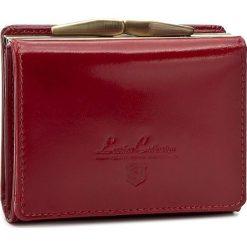 Mały Portfel Damski STEFANIA - SV-016D Czerwony. Czarne portfele damskie marki Stefania, ze skóry. Za 129,00 zł.