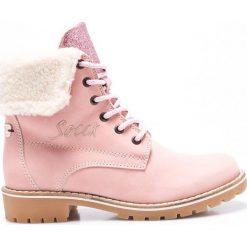 Buty zimowe damskie: Soccx - Botki