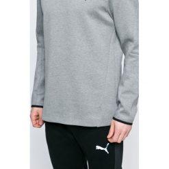 Puma - Bluza. Szare bluzy męskie rozpinane marki Puma, l, z bawełny, bez kaptura. W wyprzedaży za 139,90 zł.