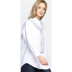 Biało-Niebieska Koszula My Life. Białe koszule damskie Born2be, s. Za 39,99 zł.