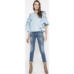 Liu Jo - Jeansy. Niebieskie jeansy damskie rurki Liu Jo. W wyprzedaży za 499,90 zł.
