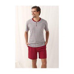 Piżamy męskie: Piżama Mark 751 Bordowa