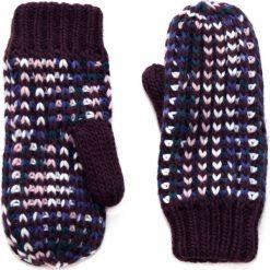 Rękawiczki damskie: Art of Polo Rękawiczki damskie jednopalczaste w melanżach bordowe (rk14166)