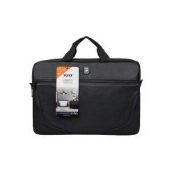 Liberty III 17,3 cala PDLIBTL17BK Torba na laptopa PORT DESIGNS. Czarne torby na laptopa Port Designs, w paski. Za 99,90 zł.