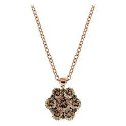 Naszyjniki damskie: Wyjątkowy Naszyjnik – złoto różowe 750, Brylant 0,90ct