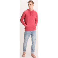 Bejsbolówki męskie: Samsøe & Samsøe TASH Bluza z kapturem brick red