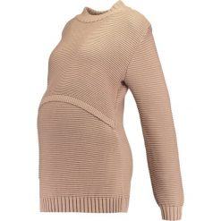Swetry klasyczne damskie: Boob ELLEN Sweter powder beige