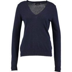 Swetry klasyczne damskie: Sisley V NECK Sweter navy