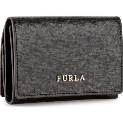 Mały Portfel Damski FURLA - Babylon 894700 P PR83 B30  Onyx. Czarne portfele damskie Furla, ze skóry. Za 495,00 zł.