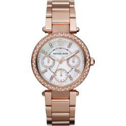 Zegarek MICHAEL KORS - Mini Parker MK5616 Rose Gold/Rose Gold. Czerwone zegarki damskie Michael Kors. Za 1369,00 zł.