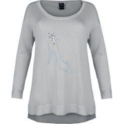 Bluzy damskie: Kopciuszek Glass Slipper Bluza damska jasnoszary
