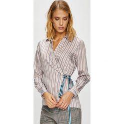 Pepe Jeans - Koszula Senia. Szare koszule jeansowe damskie Pepe Jeans, l, casualowe, z długim rękawem. Za 299,90 zł.