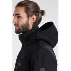 Jack Wolfskin HIGHLAND  Kurtka hardshell black. Czarne kurtki trekkingowe męskie marki Jack Wolfskin, l, z poliesteru, z kapturem. W wyprzedaży za 575,20 zł.