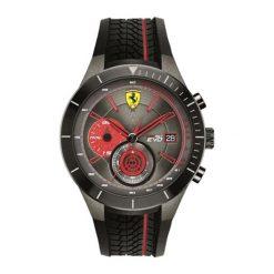 """Zegarek """"0830341-RED-REV-EVO"""" w kolorze czarnym. Czarne, analogowe zegarki męskie Lacoste, sztuczne. W wyprzedaży za 979,95 zł."""