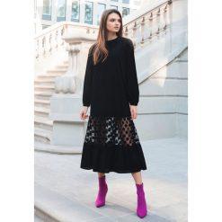Czarna Sukienka Margot - Limited Edition. Czarne długie sukienki marki other, l. Za 299,99 zł.