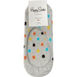 Skarpety Stopki Damskie HAPPY SOCKS - DOT06-9001 Szary. Szare skarpetki damskie Happy Socks, z bawełny. Za 24,90 zł.