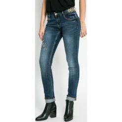 Desigual - Jeansy. Szare jeansy damskie marki Desigual, l, z tkaniny, casualowe, z długim rękawem. W wyprzedaży za 269,90 zł.