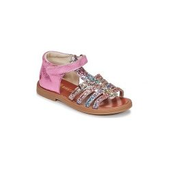 Sandały Dziecko  GBB  PHILIPPINE. Czerwone sandały dziewczęce GBB. Za 223,20 zł.