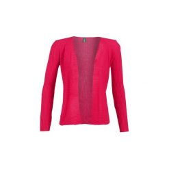 Swetry rozpinane / Kardigany Benetton  ARTEMA. Czerwone kardigany damskie marki Benetton, l. Za 207,20 zł.
