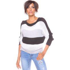"""Swetry klasyczne damskie: Sweter """"Olivia"""" w kolorze czarnym"""