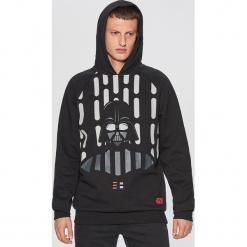 Bluza z nadrukiem STAR WARS - Czarny. Czarne bluzy męskie rozpinane marki Cropp, l, z motywem z bajki. Za 129,99 zł.
