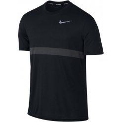Nike Koszulka Do Biegania M Nk Znl Cl Relay Top Ss M. Czarne koszulki do biegania męskie Nike, m, dri-fit (nike). W wyprzedaży za 139,00 zł.