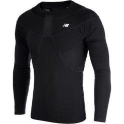 Koszulka kompresyjna - MT710136BK. Czarne koszulki do piłki nożnej męskie New Balance, na jesień, m, z materiału. W wyprzedaży za 149,99 zł.
