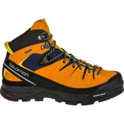 Buty trekkingowe męskie: Salomon Buty męskie X Alp Mid Ltr GTX Navy Blazer/Bright Marigold/Empire Yellow r. 46 2/3 (393251)