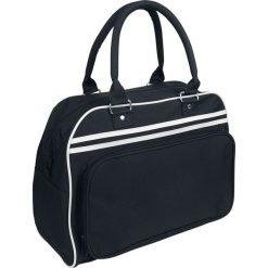 Torebki klasyczne damskie: BagBase Retro Bowling Bag Torebka – Handbag czarny/biały