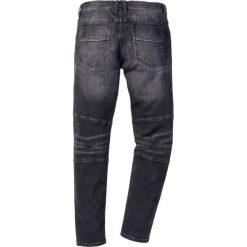 """Dżinsy ze stretchem Slim Fit Straight bonprix czarny """"stone"""". Czarne rurki męskie bonprix, z jeansu. Za 129,99 zł."""