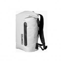 Plecak miejski FishDryPack CITY 20L Light Grey. Białe plecaki męskie Fish dry pack, w paski, z materiału. Za 209,00 zł.