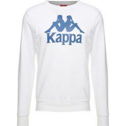 Bejsbolówki męskie: Kappa AUTHENTIC ZEMIN Bluza white blue