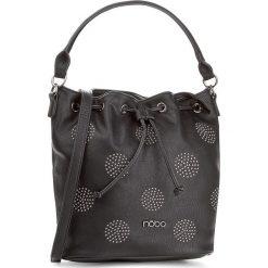 Torebka NOBO - NBAG-D2830-C020 Czarny. Czarne torebki klasyczne damskie marki Nobo, ze skóry ekologicznej. W wyprzedaży za 139,00 zł.
