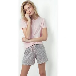 Piżamy damskie: Damska piżama Caprice różowa