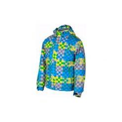 Brugi Kurtka męska 4AL7-843 Bluette r. XL. Białe kurtki męskie marki Adidas, l, z jersey, do piłki nożnej. Za 192,67 zł.