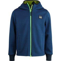Bench BONDED HOODED  Kurtka z polaru blue. Niebieskie kurtki chłopięce Bench, z bawełny. Za 259,00 zł.