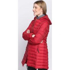Czerwona Kurtka Weakness. Brązowe kurtki damskie pikowane marki QUECHUA, na zimę, m, z materiału. Za 94,99 zł.