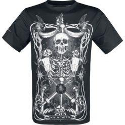 T-shirty męskie z nadrukiem: Jawbreaker Muerte Tarot T-Shirt czarny