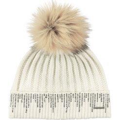 Barts - Czapka  Marigold Beanie mascarpone. Żółte czapki zimowe damskie marki Barts, na zimę, z dzianiny. W wyprzedaży za 129,90 zł.