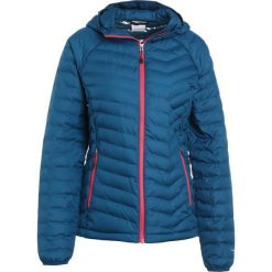 Columbia POWDER LITE HOODED Kurtka Outdoor phoenix blue. Niebieskie kurtki damskie Columbia, xs, z materiału, outdoorowe. W wyprzedaży za 399,20 zł.