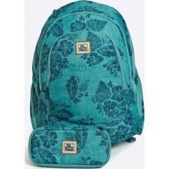 Dakine - Plecak 25L + piórnik. Zielone plecaki damskie Dakine, w paski, z materiału. W wyprzedaży za 219,90 zł.