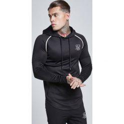 Bejsbolówki męskie: SIKSILK SIKSILK ZONAL OVERHEAD Bluza z kapturem black