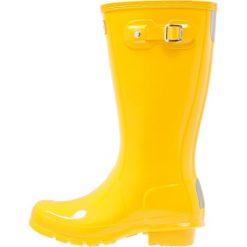 Kalosze damskie: Hunter ORIGINAL GLOSS Kalosze yellow