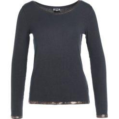 Dimensione Danza MAGLIA COSTINA Bluzka z długim rękawem charcoal. Szare bluzki damskie Dimensione Danza, xs, z elastanu, z długim rękawem. W wyprzedaży za 149,50 zł.